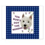 Wee Westie Words of Wisdom Poster Design