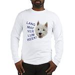 Westie Wit Long Sleeve T-Shirt