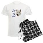 Westie Wit pajamas
