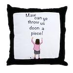 Scottish Jeely Piece Kids Throw Pillow