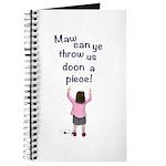 Scottish Jeely Piece Kids Journal