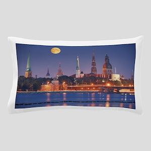 River Daugava in Riga Pillow Case