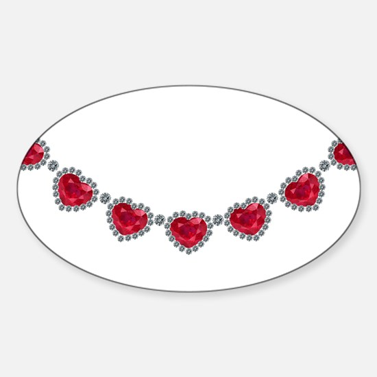 Pretty Woman Ruby Necklace Decal