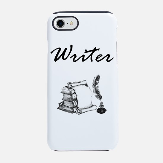 Writer Books and Quill iPhone 8/7 Tough Case