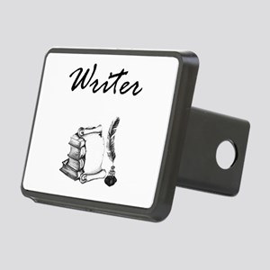 Writer Books and Quill Hitch Cover