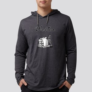 Writer Books and Quill Long Sleeve T-Shirt