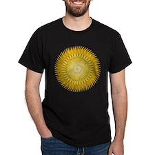 Sun Mandala yellow