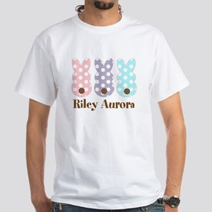 Custom name Polka dot bunnies T-Shirt
