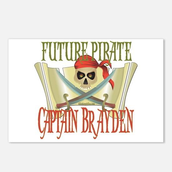 Future Pirates Postcards (Package of 8)