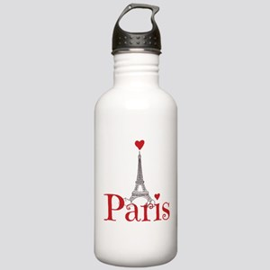 I love Paris Stainless Water Bottle 1.0L