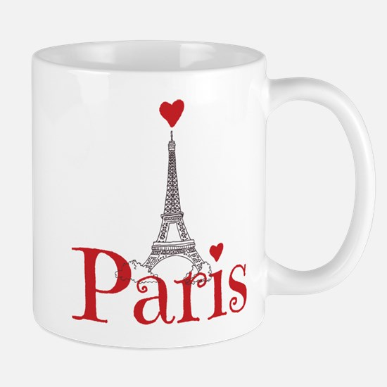I love Paris Mugs