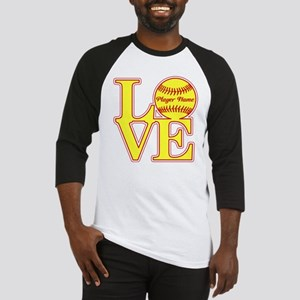 Personalized Love Softball Baseball Jersey
