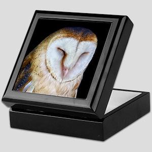 The Barn Owl Keepsake Box