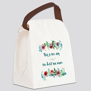 This is the Day Canvas Lunch Bag