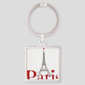 I love Paris Keychains