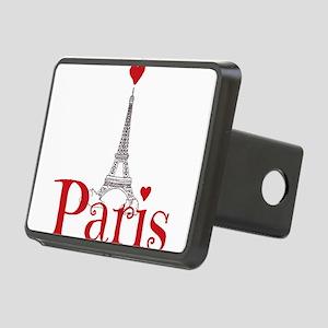 I love Paris Rectangular Hitch Cover