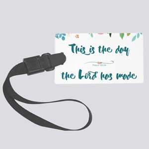 This is the Day Large Luggage Tag