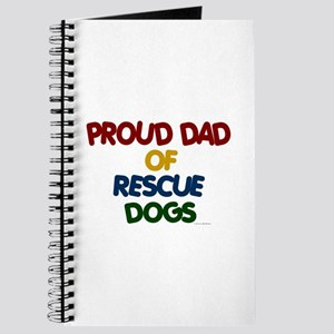 Proud Dad Of Rescue Dogs 1 Journal