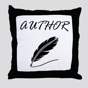 Author Quill Throw Pillow