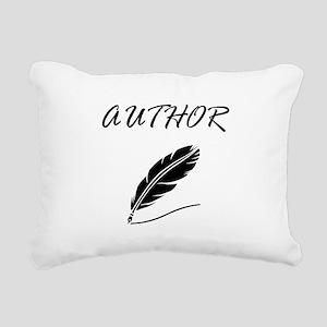 Author Quill Rectangular Canvas Pillow