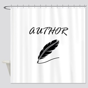 Author Quill Shower Curtain