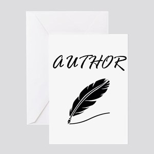 Author Quill Greeting Cards