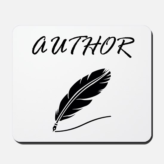 Author Quill Mousepad