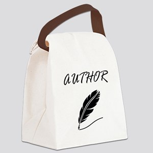 Author Quill Canvas Lunch Bag