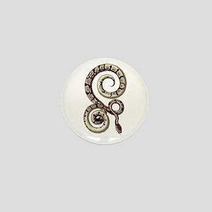 Royal Python Snake Mini Button
