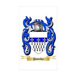 Pavelka Sticker (Rectangle 50 pk)