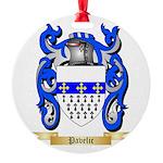 Pavelic Round Ornament