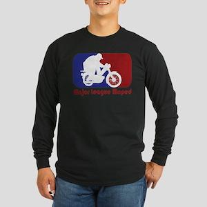 MopedLOGOredtext Long Sleeve T-Shirt