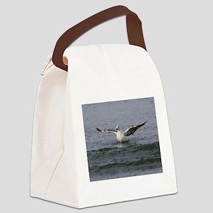 Plum Island Seagull Canvas Lunch Bag