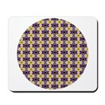 Yellow Starlight Mousepad