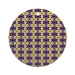 Yellow Starlight Ornament (Round)