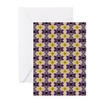 Yellow Starlight Greeting Cards (Pk of 10)