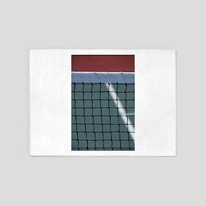 tennis 5'x7'Area Rug
