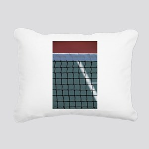 tennis Rectangular Canvas Pillow