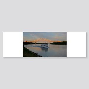 Cape Cod Canal Bumper Sticker