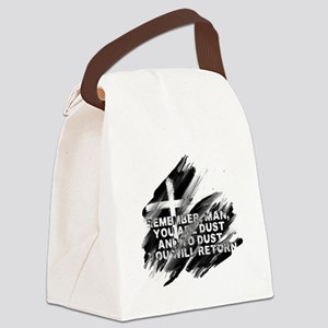 You are Dust Canvas Lunch Bag