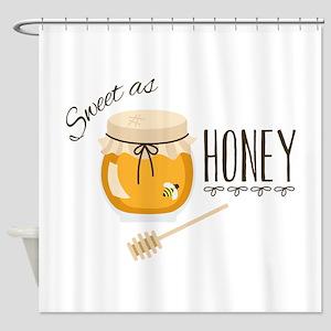 Sweet As Honey Shower Curtain