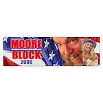 Moore/Block 2008 Bumper Sticker