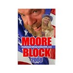 Moore/Block 2008 Rectangle Magnet
