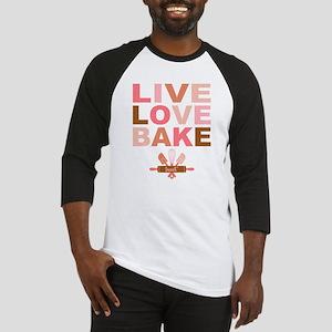 Live Love Bake Baseball Jersey