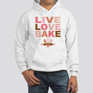 Live Love Bake Hooded Sweatshirt