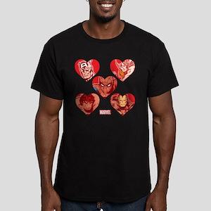 Avengers Spider-Man Va Men's Fitted T-Shirt (dark)