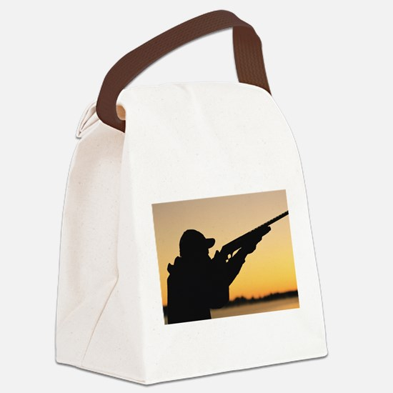hunting Canvas Lunch Bag
