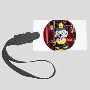 Firefighter Large Luggage Tag