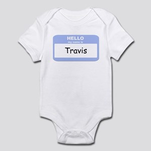 My Name is Travis Infant Bodysuit