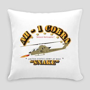 AH-1 Cobra - Snake Everyday Pillow